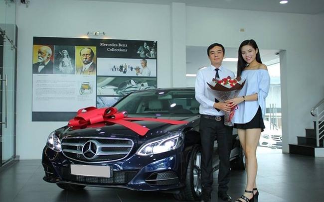 Năm 2016, Hoa hậu Kỳ Duyên tậu chiếc Mercedes-Benz E200 trị giá 2 tỷ đồng.