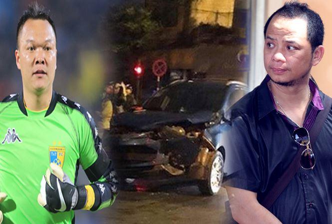 Diễn viên Anh Tuấn nói về vụ va chạm giao thông với thủ môn Hồng Sơn - 1