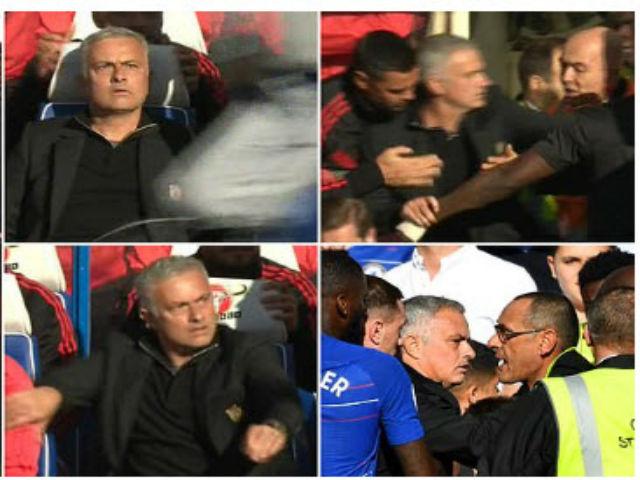 """Ẩu đả đại chiến MU - Chelsea: Lộ mặt kẻ trêu ngươi suýt bị Mourinho """"tẩn"""""""