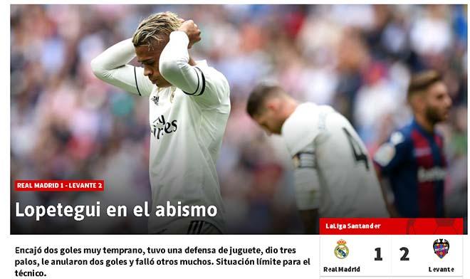 """Real Madrid thua liền 3 trận: Báo giới """"tha"""" Lopetegui, sỉ mắng """"ông trùm"""" - 1"""