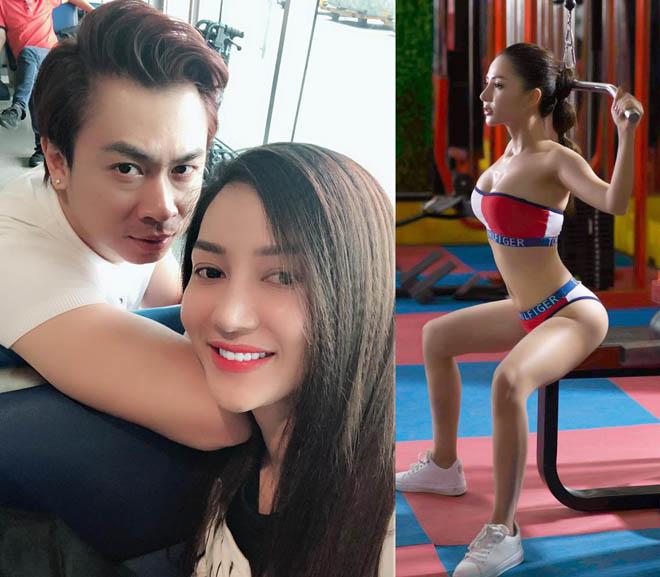 Bạn gái Hồ Việt Trung: Hạn chế hở hang dù ít khi bị bạn trai nhắc nhở - 1
