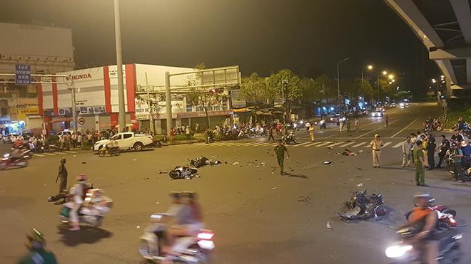 Nữ tài xế lái BMW gây tai nạn ở Sài Gòn có nồng độ cồn gấp 4 lần cho phép - 1
