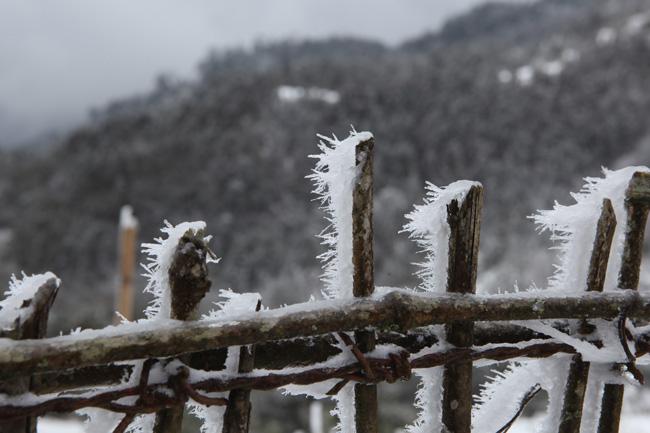 Mùa đông 2018 lạnh nhất trong 5 năm gần đây, băng tuyết xuất hiện - 1