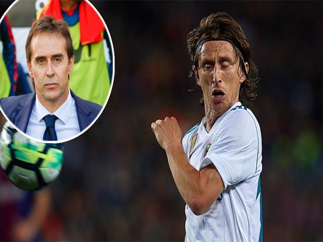 """Nội tình Real rối loạn: """"Đại ca"""" Ramos cứu thầy đấu """"phản thần"""" Modric"""