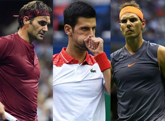 """Bảng xếp hạng tennis 22/10: Federer mệt vì số 3, Djokovic """"tha"""" Nadal - 1"""