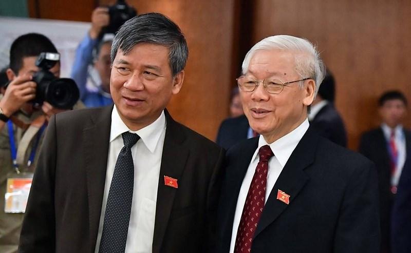 Giới thiệu TBT Nguyễn Phú Trọng để QH bầu làm Chủ tịch nước - 1