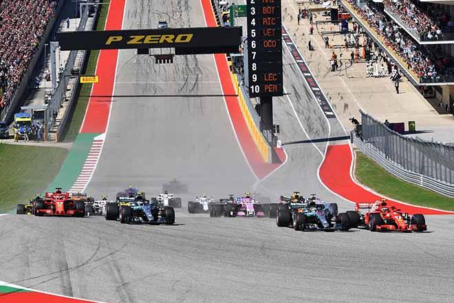 """Đua xe F1, US GP: """"Người tuyết"""" chấm dứt cơn khát 2044 ngày - 1"""