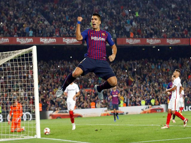 """Chấm điểm siêu sao vòng 9 La Liga: Suarez trở lại trong ngày Messi """"gãy cánh"""""""