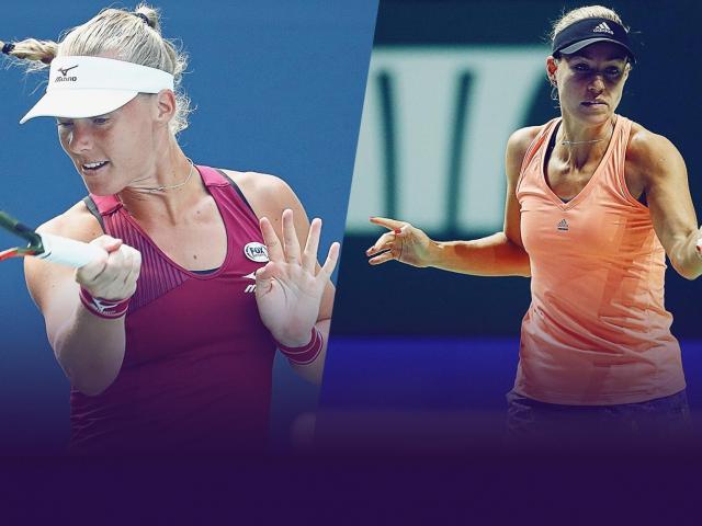 """WTA Finals ngày 2: Cựu số 1 thế giới thua đau """"kẻ đóng thế"""" Halep"""