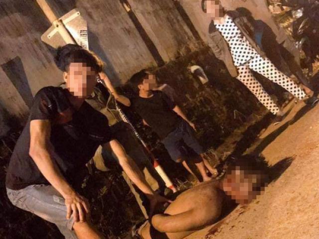Nghi bắt cóc trẻ em, 1 thanh niên bị nhiều người đánh đánh tử vong