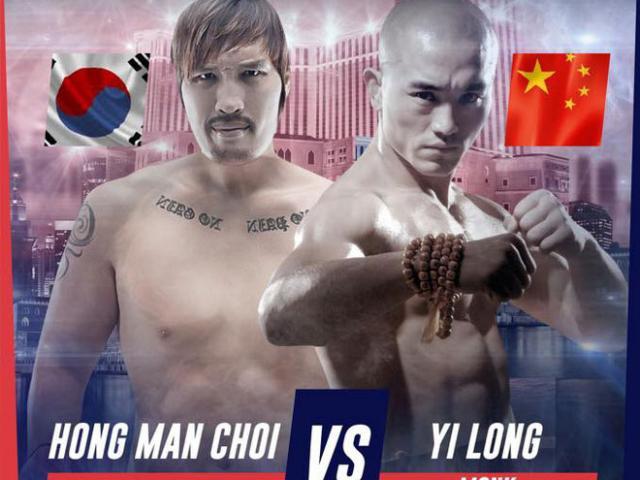 """""""Đệ nhất Thiếu Lâm"""" đấu khổng lồ 2m18 - 150kg: Võ Trung Quốc """"rửa mặt"""""""