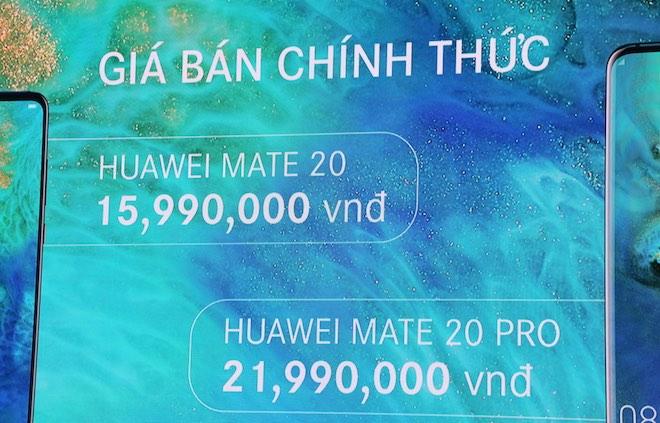 Huawei Mate 20 và Mate 20 Pro về Việt Nam, giá từ 15,99 triệu đồng - 1