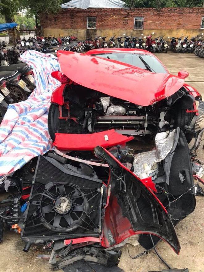 Số phận siêu xe 15 tỷ của Tuấn Hưng sau tai nạn nát đầu trên cao tốc - 1