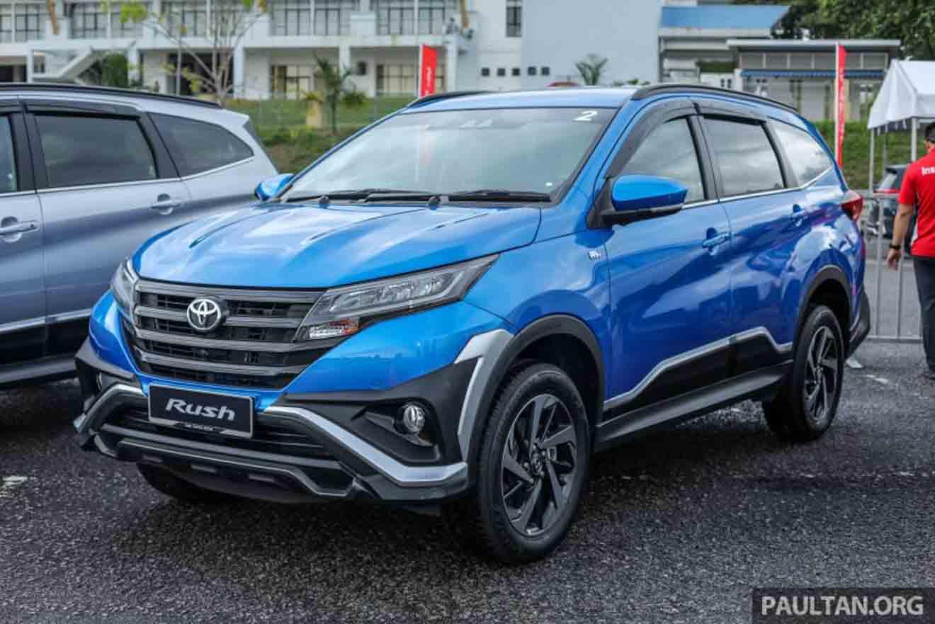 Toyota giới thiệu phiên bản Rush 2018 tại Malaysia: Ghế bọc da, hệ thống an toàn mới - 1
