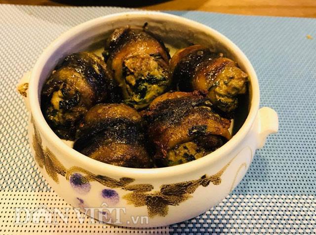 Cách làm món lươn cuốn thịt rán thơm phức, bé ăn vừa ngon vừa bổ