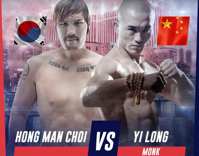 """""""Đệ nhất Thiếu Lâm"""" đấu khổng lồ 2m18 - 150kg: Võ Trung Quốc """"rửa mặt"""" - 1"""