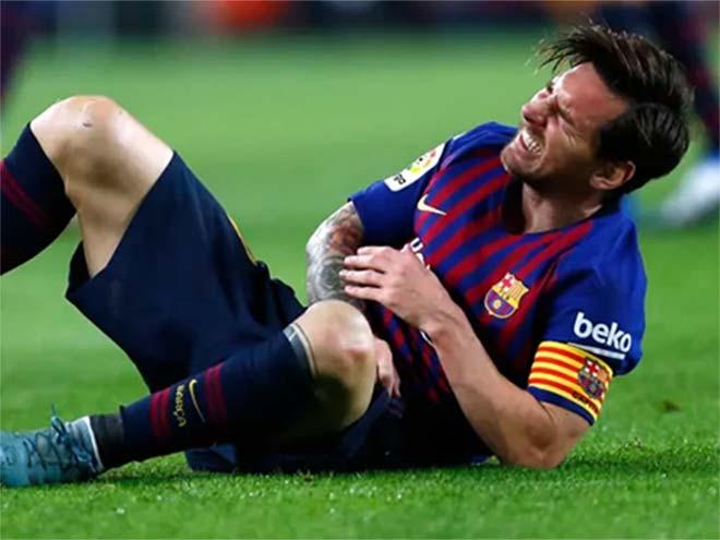 Messi thảm họa chấn thương: Bài học quá khứ, có lo bị Ronaldo vượt mặt? - 1