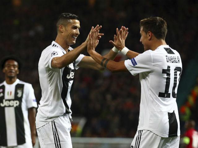 Juventus hạ MU cúp C1: Ronaldo hớn hở ăn mừng, Pogba ôm hận vì cột dọc