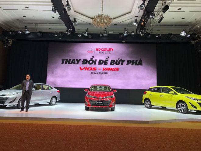 Giá xe Toyota Vios 2018 cập nhật mới nhất chỉ từ 531 triệu đồng - 1