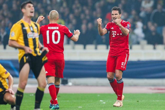 AEK Athens - Bayern Munich: 2 phút xuất thần giải bài toán khó - 1