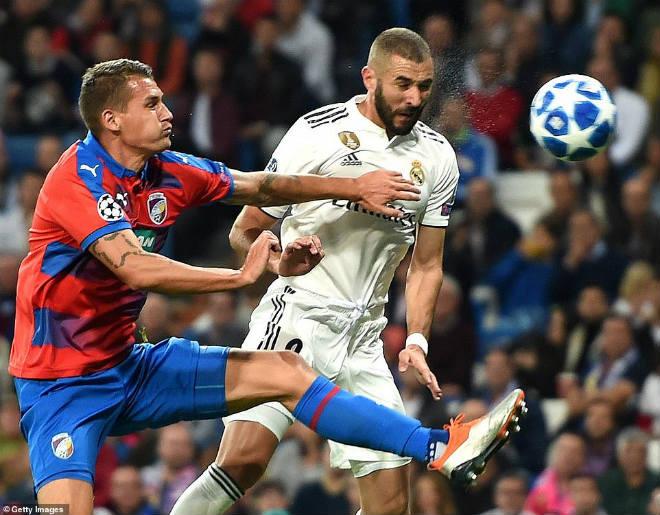Real Madrid - Viktoria Plzen: 2 sao lớn rực sáng rượt đuổi đến cùng - 1