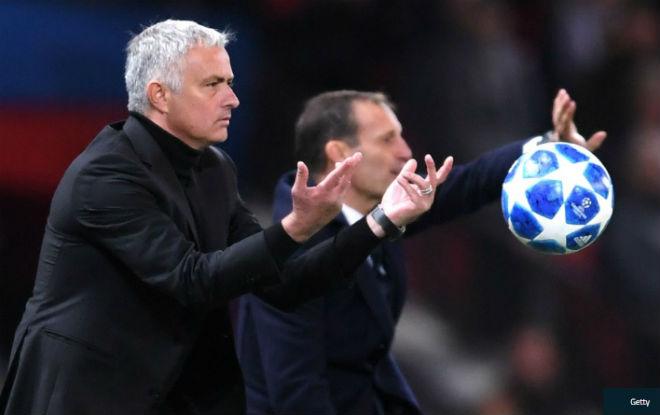 """MU thua đau C1: Mourinho nhận kém trình Juventus vẫn """"dìm hàng"""" Ronaldo - 1"""