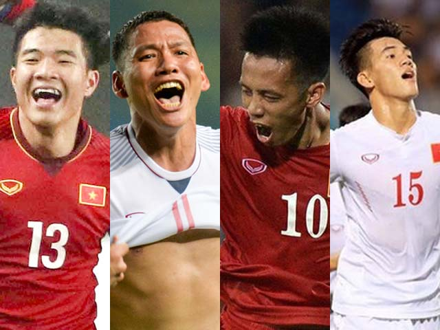 ĐT Việt Nam tìm trung phong dự AFF Cup: Thầy Park khó nghĩ vì 4 anh tài