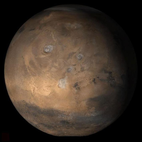 """""""Thủy tổ loài người"""" đang sống trên Sao Hỏa? - 1"""