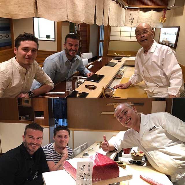 Khám phá nhà hàng sushi nơi David Backham, Barack Obama từng ghé ăn - 1