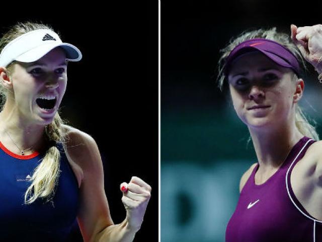 """WTA Finals ngày 5: Mỹ nhân lên đồng, """"nữ hoàng"""" Wozniacki bị loại"""