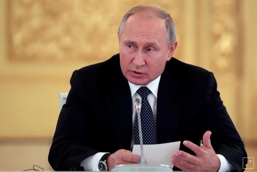 """Putin cảnh báo """"lạnh gáy"""" sau khi Mỹ rút khỏi hiệp ước hạt nhân - 1"""