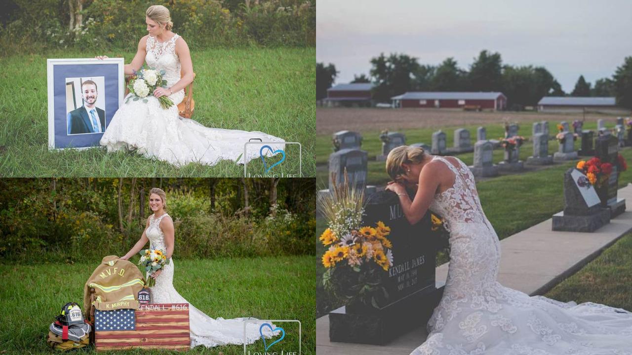 Chồng bị đồng nghiệp tông chết trước ngày cưới, cô dâu nén nỗi đau làm điều bất ngờ - 1