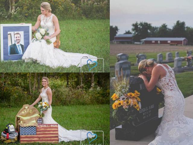 Chồng bị đồng nghiệp tông chết trước ngày cưới, cô dâu nén nỗi đau làm điều bất ngờ
