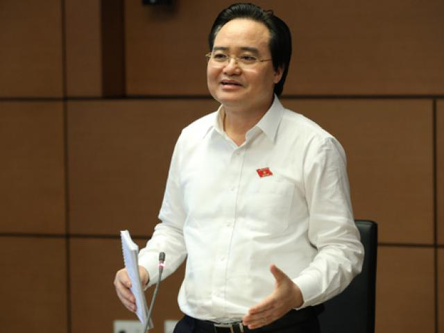 """Bộ trưởng Phùng Xuân Nhạ nói gì về việc nhận số phiếu """"tín nhiệm thấp"""" nhiều nhất?"""