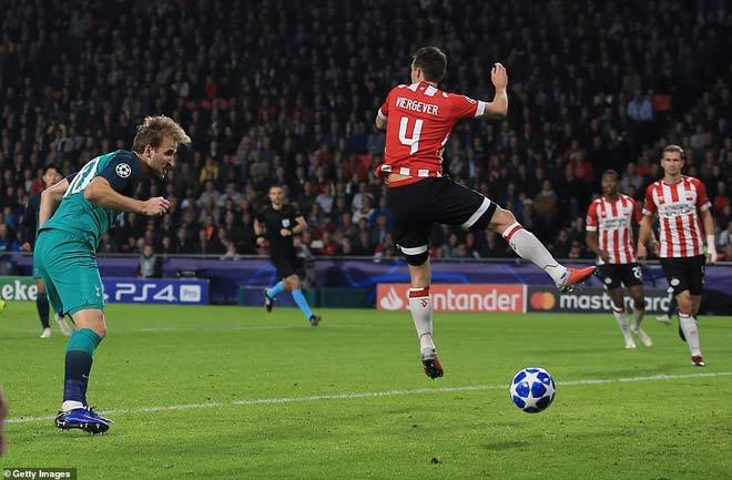 PSV Eindhoven - Tottenham: Siêu kịch tính 4 bàn rượt đuổi - 1