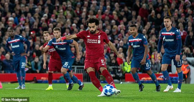 """Salah hóa """"Máy ghi bàn"""": Còn mỗi MU cản bước, Ronaldo cũng phải nể - 1"""