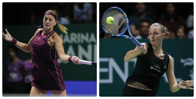 Trực tiếp tennis WTA Finals ngày 5: Mỹ nhân tranh vé bán kết, nữ hoàng sợ mất ngai - 1