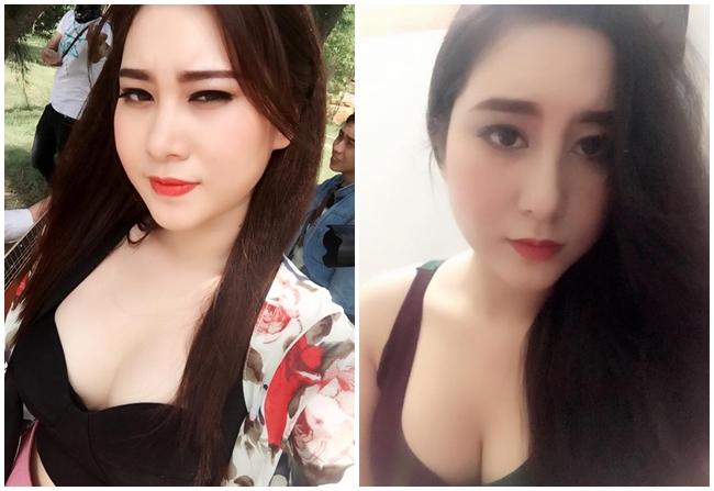 Sự thay đổi cân nặng được thể hiện rõ hơn qua hai bức ảnh cùng góc chụp nhưng khác thời gian.