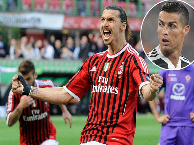 Ibrahimovic chê MU - Real:  Về Serie A thách đấu Ronaldo?