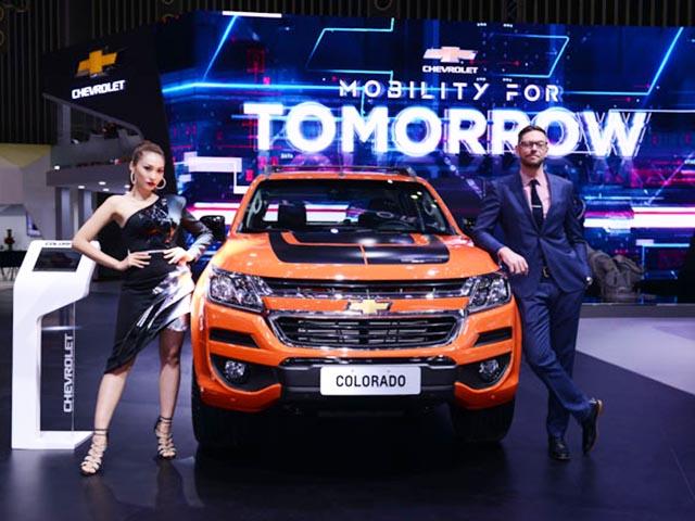 Chevrolet tung bản đặc biệt Colorado Storm tại VMS 2018: Giá bán 819 triệu