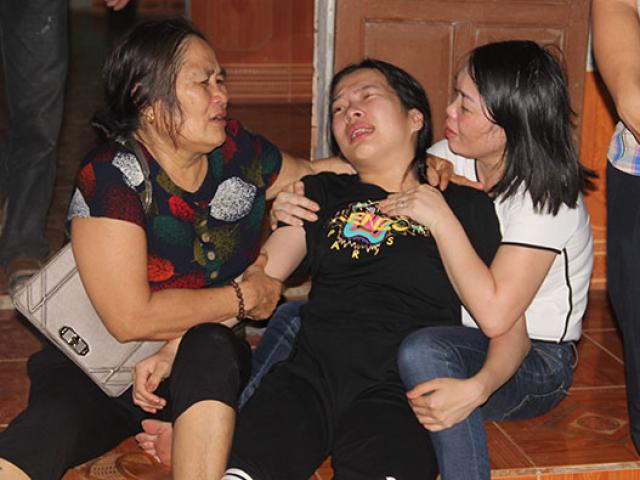 """Tang thương vụ 4 người bị điện giật chết: """"Cha ơi về đi, đừng bỏ mẹ con con"""""""