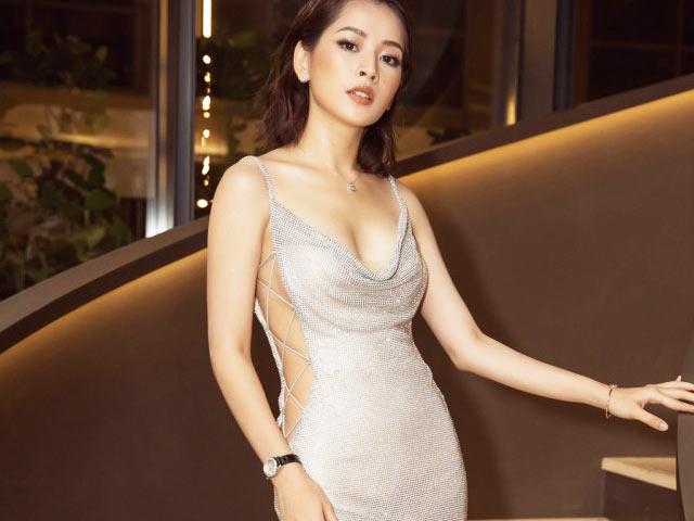 Chi Pu quá sexy với váy hở lườn đan dây chằng chịt