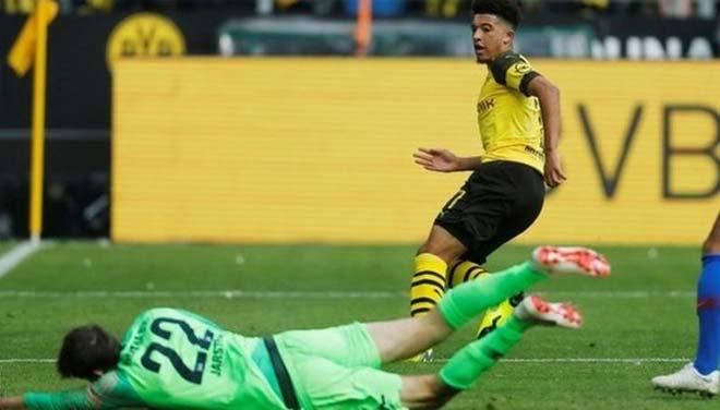 "Dortmund - Hertha Berlin: ""Neymar nước Anh"" đọ cú đúp cựu SAO Chelsea - 1"