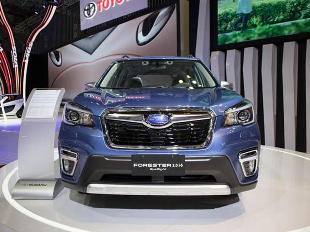 Xem chi tiết Subaru Forester 2019 tại triển lãm ôtô Việt nam 2018