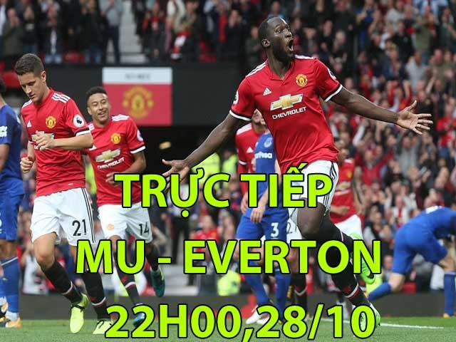 Trực tiếp bóng đá MU - Everton: De Gea khẳng định hạnh phúc tại Old Trafford