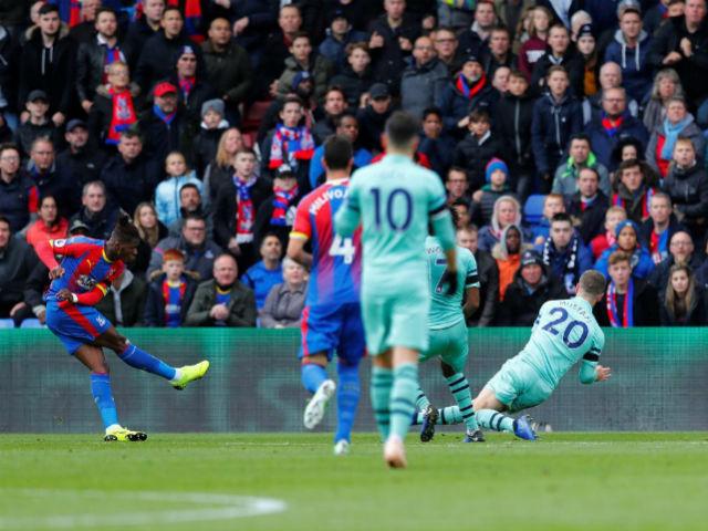 Video, kết quả bóng đá Cryatal Palace - Arsenal: Cay đắng thủng lưới phút bù giờ (Hiệp 1)