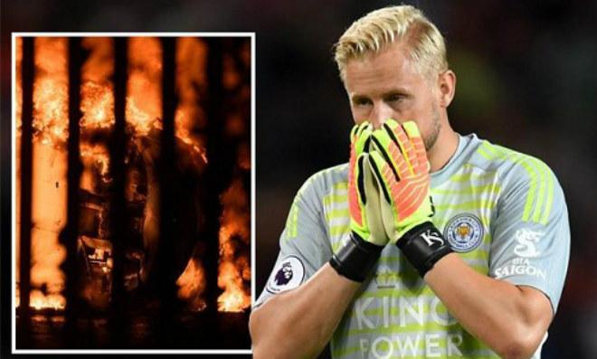 Kinh hoàng trực thăng chủ tịch Leicester City gặp nạn: Đội trưởng khóc như mưa - 1