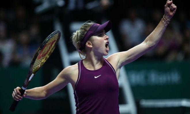 """Stephens - Svitolina: 2 set bùng nổ lên ngôi """"Nữ hoàng"""" (Chung kết WTA Finals) - 1"""