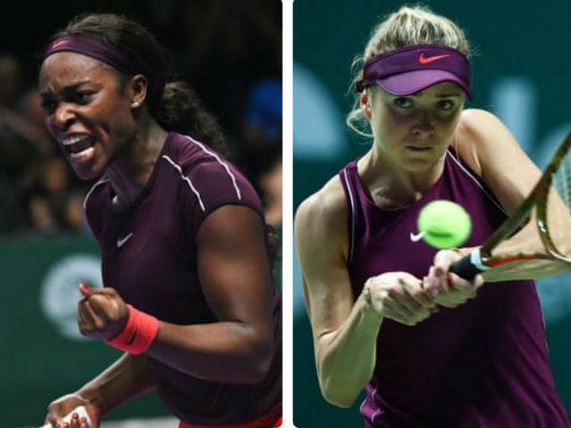"""Video, kết quả tennis Stephens - Svitolina: 2 set bùng nổ lên ngôi """"Nữ hoàng"""" (Chung kết WTA Finals)"""