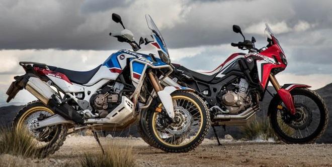 Siêu mô tô đường trường 2019 Honda Africa Twin bản nâng cấp lộ diện - 1
